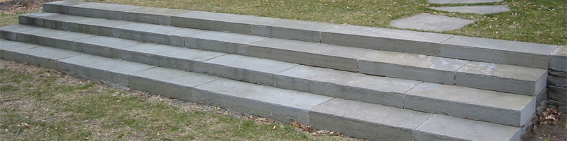 Large Bluestone Steps