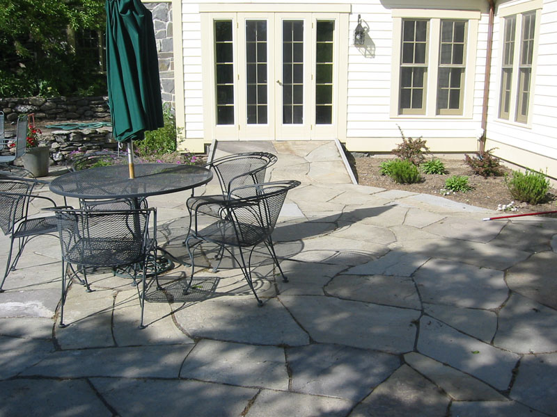 More Stone Patio Natural Flagstone Patios and