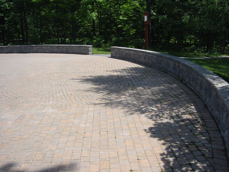 Landscaping Paver Block : More stone patio pictures natural flagstone patios and