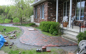 Patio Pavers Walkway