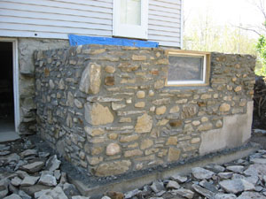 Stone masonry that will last many years to come for Old house foundation types