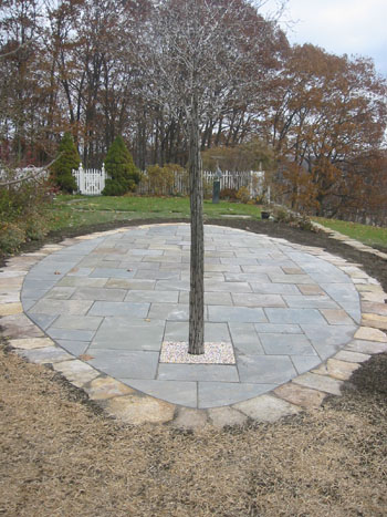 Finished Stone Patio