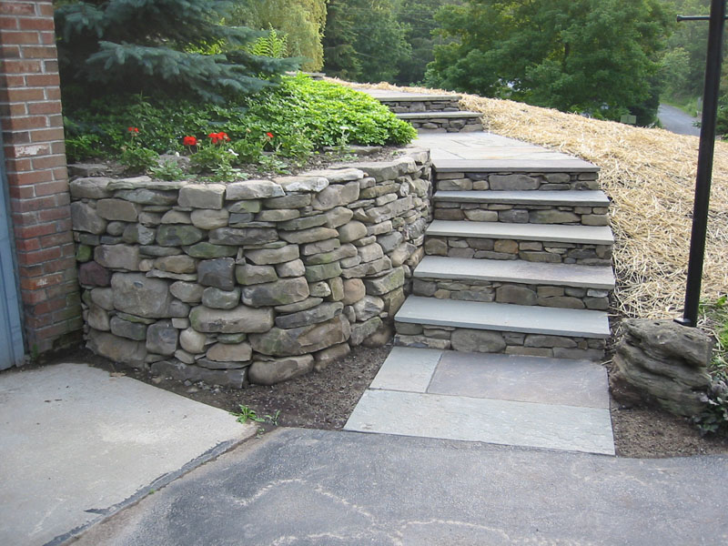 Stone Wall Pictures Field Stone Stone Pillars And