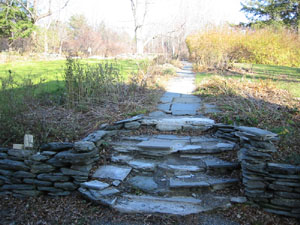 Existing Stone Walkway and Walls