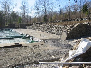 Stone Walls - In Progress